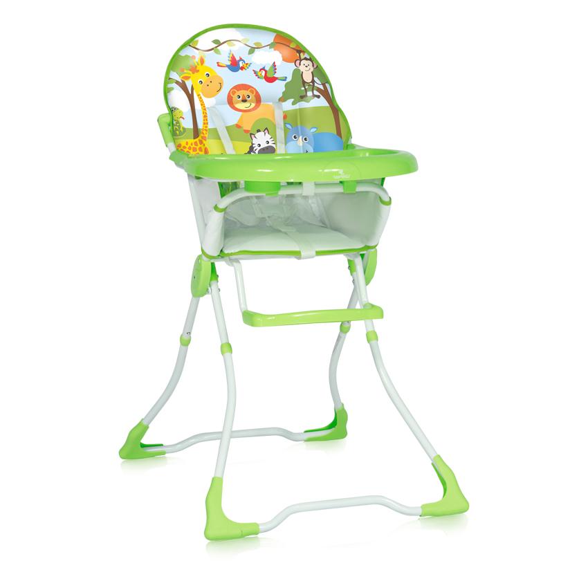Jídelní židlička Lorelli MARCEL GREEN JUNGLE