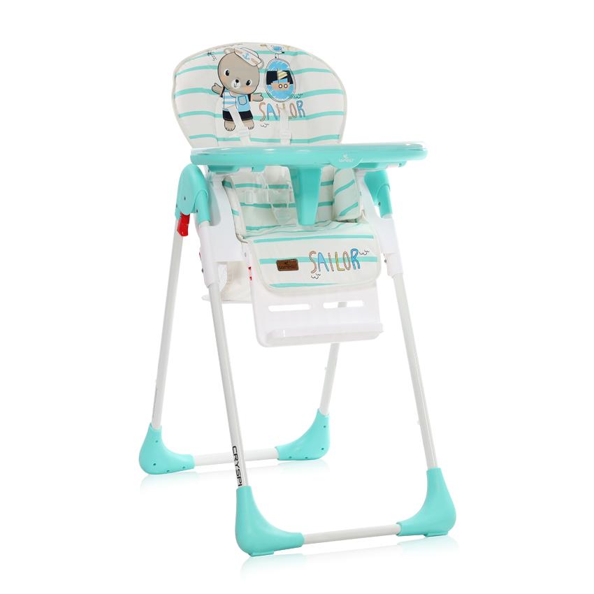Jídelní židlička Lorelli CRYSPI AQUAMARINE SAILOR