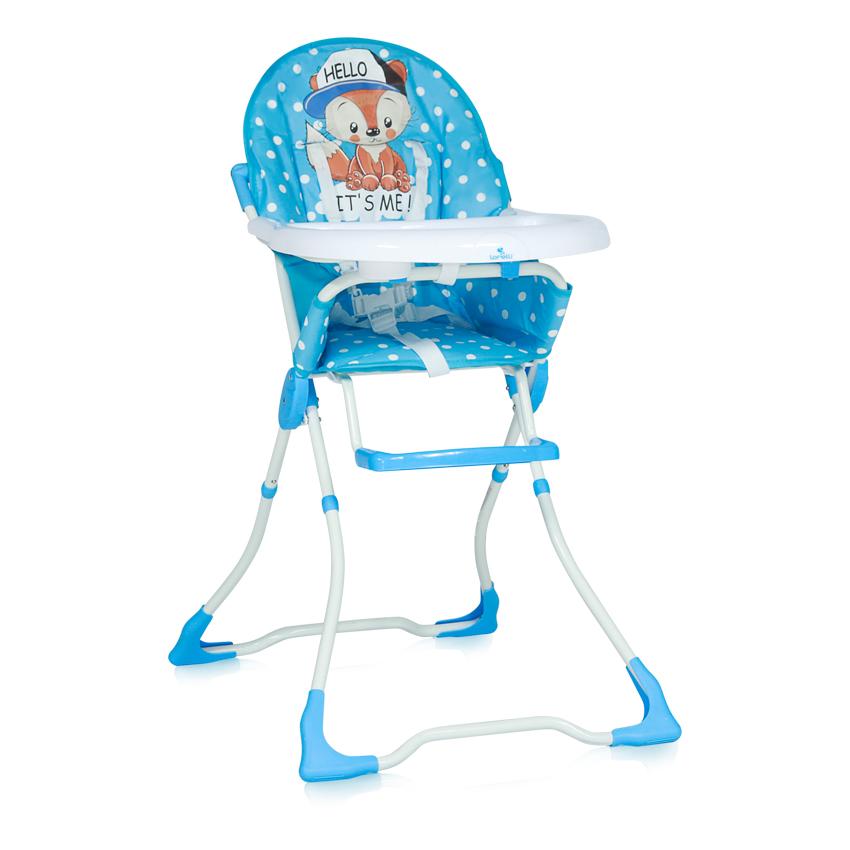 Jídelní židlička Lorelli MARCEL BLUE BABY FOX