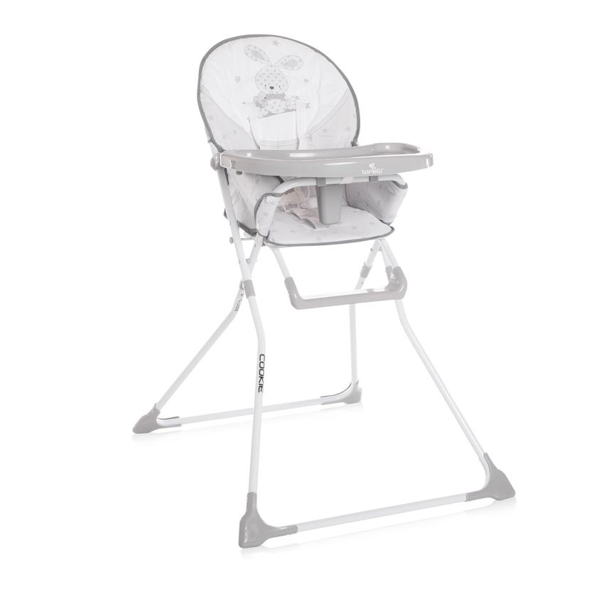Jídelní židlička Lorelli COOKIE GREY BUNNY