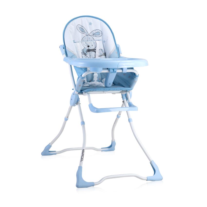 Jídelní židlička Lorelli MARCEL BLUE BUNNY