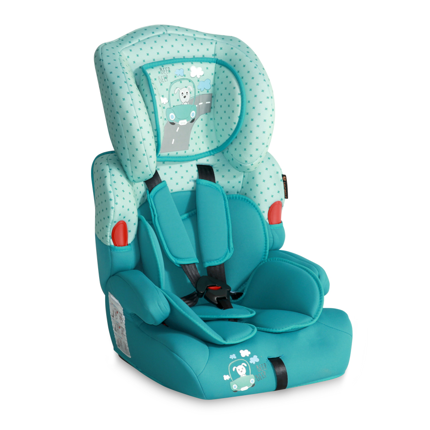 Autosedačka Lorelli KIDDY 9-36 KG DARK&LIGHT AQUAMARINE