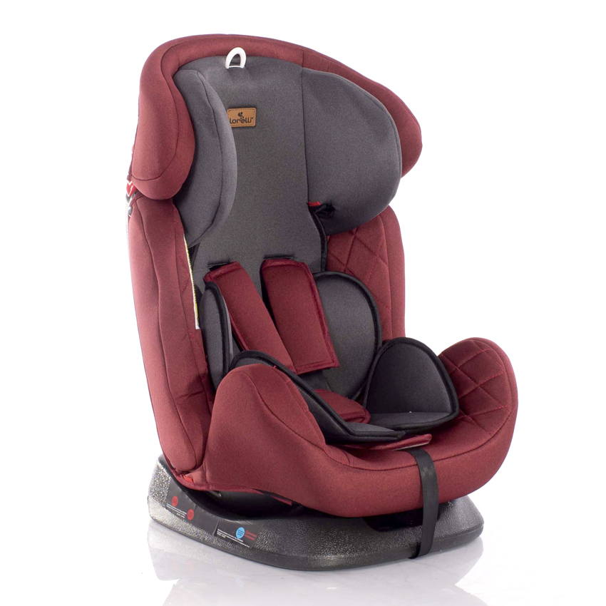 Autosedačka Lorelli GALAXY 0-36 KG BLACK&RED