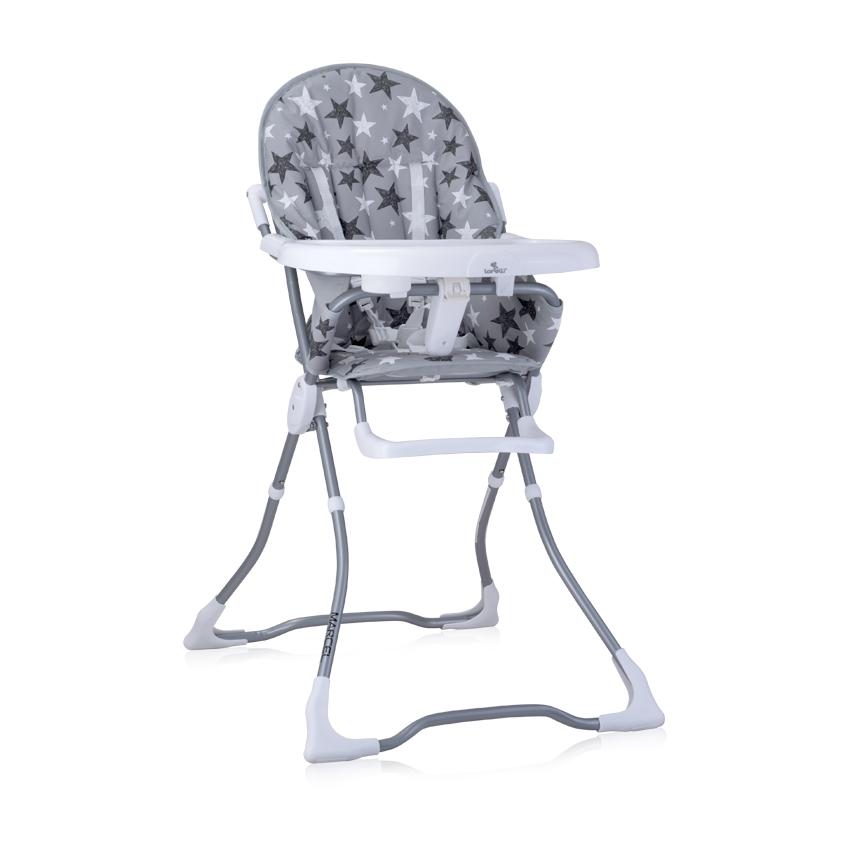 Jídelní židlička MARCEL GREY STARS