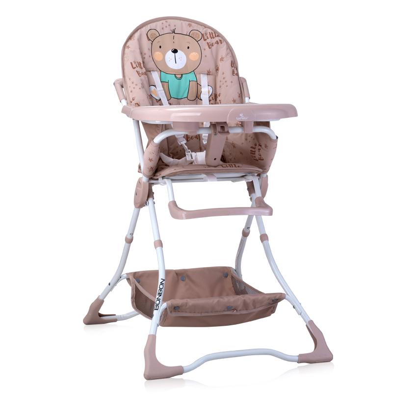 Jídelní židlička Lorelli BONBON BEIGE BEAR
