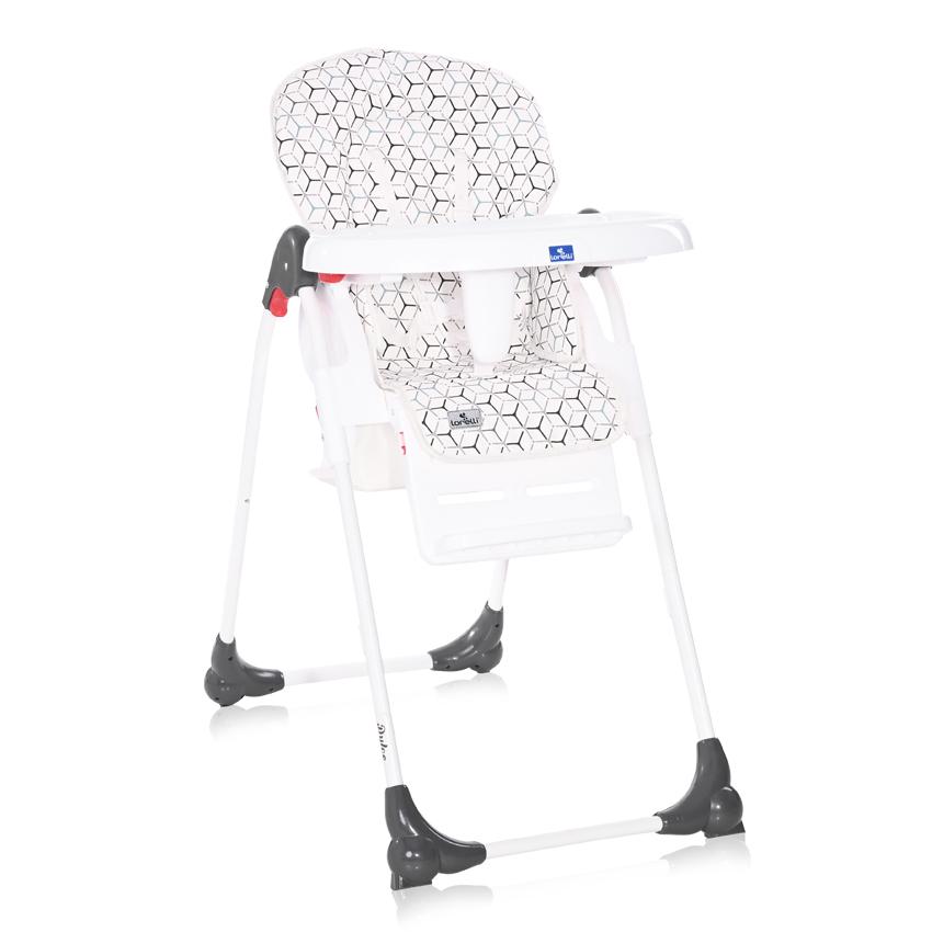 Jídelní židlička Lorelli DULCE GREY NET