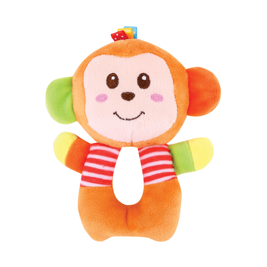 RUČNÍ MUFFY RATTLE MONKEY