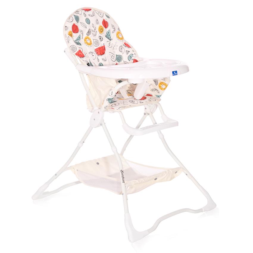 Jedálenská stolička Lorelli BONBON WHITE FRUITS
