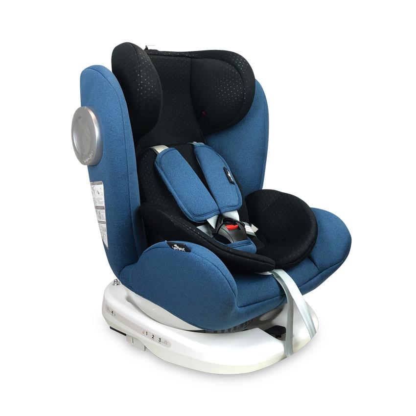 Autosedačka Lorelli LUSSO SPS ISOFIX 0-36 KG BLUE&BLACK