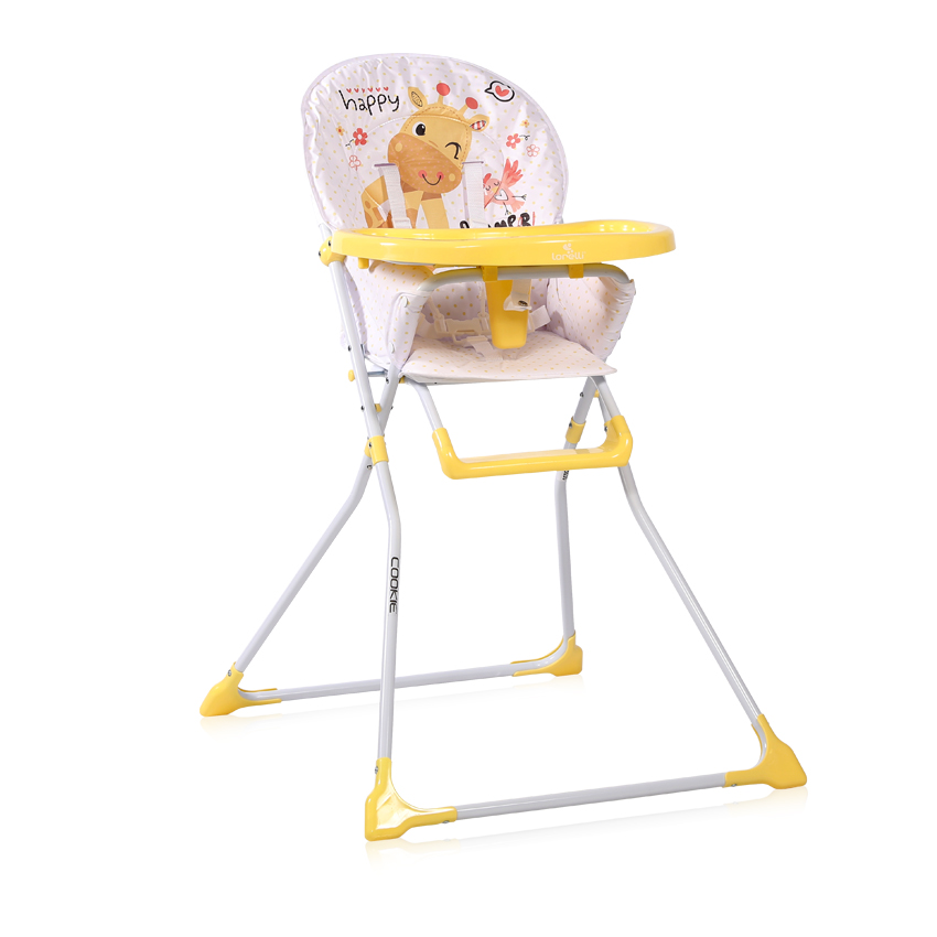 Jídelní židlička Lorelli COOKIE YELLOW GIRAFFE