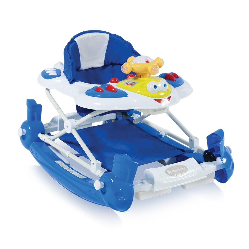 Dětské Chodítka SWING HELICOPTER BLUE EN-STANDART